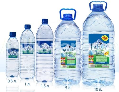 Негазированная горная питьевая вода серии ECO