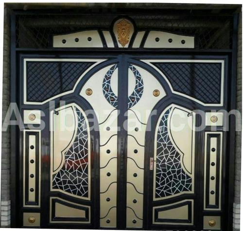 Металлические ворота в европейском стиле
