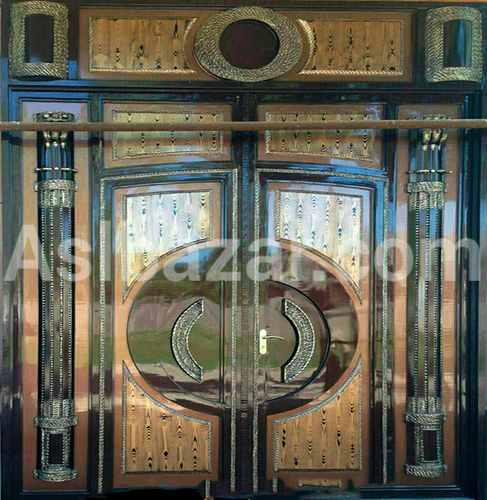 Люксовые металлические ворота