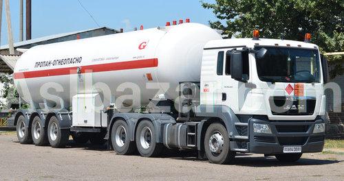 Транспортировка сжиженного газаУслуга транспортировки сжиженного газа по Узбекистану в специализированным автоцистерне вместимостью с 3,5 до 20 тонн. Мы гарантируем, что заказанная продукция будет доставлена к месту назначения вовремя и с соблюдением правил перевозки опасных грузов.