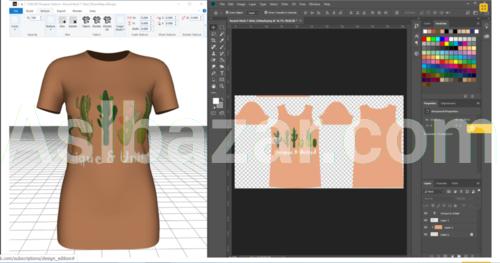 Программа САПР одежды PrintVisualizer-TUKA3DDesignerEdition по онлайн подписке (первая и единственная в мире).